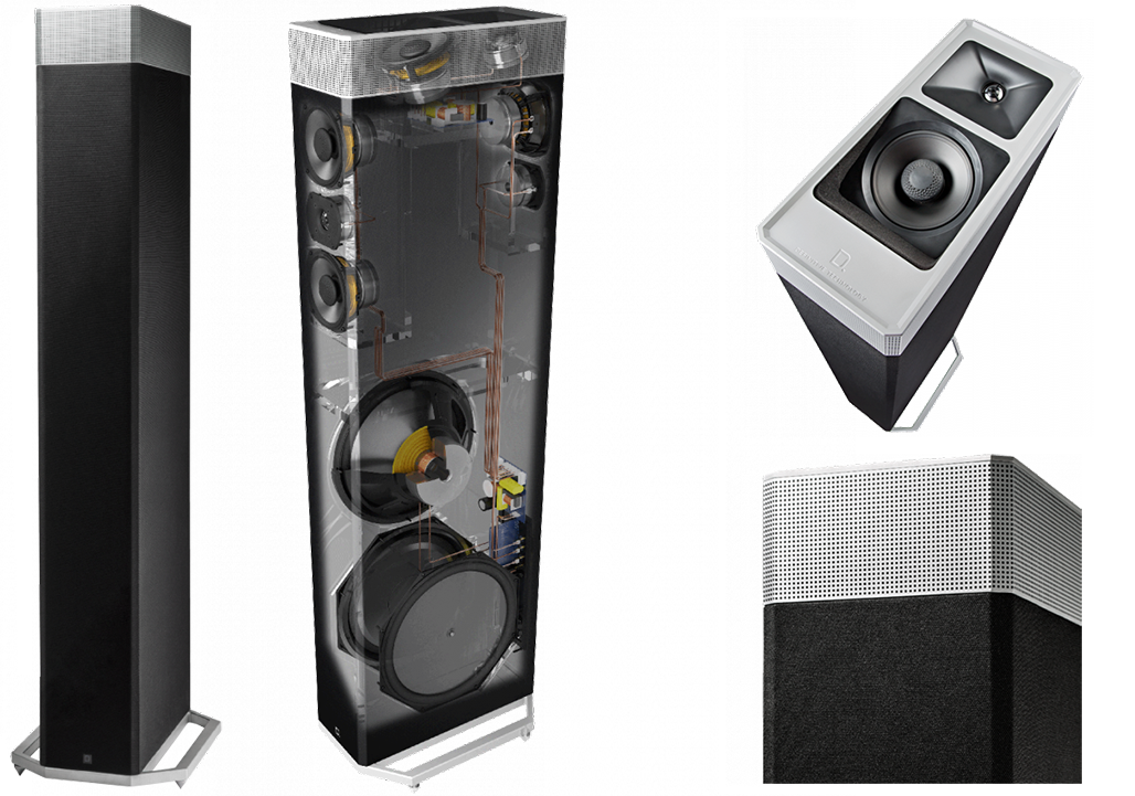 definitive technology speakers. definitive technology bp9080x 12 speakers /